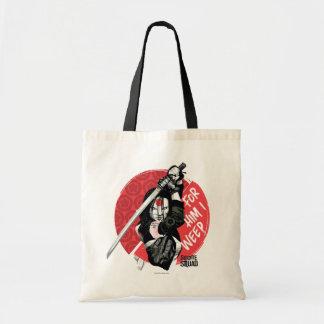 "Suicide Squad   Katana ""For Him I Weep"" Budget Tote Bag"