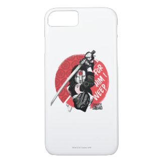 """Suicide Squad   Katana """"For Him I Weep"""" iPhone 7 Case"""