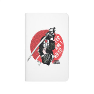 "Suicide Squad | Katana ""For Him I Weep"" Journals"