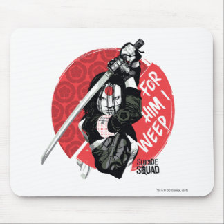 "Suicide Squad | Katana ""For Him I Weep"" Mouse Pad"