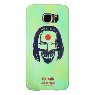 Suicide Squad | Katana Head Icon Samsung Galaxy S6 Cases