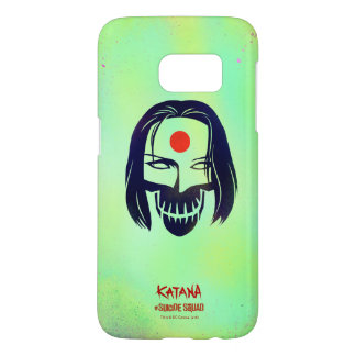 Suicide Squad | Katana Head Icon Samsung Galaxy S7 Case