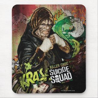 Suicide Squad | Killer Croc Character Graffiti Mouse Pad