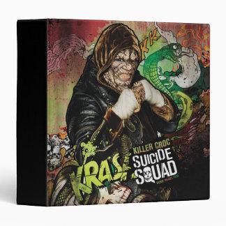 Suicide Squad   Killer Croc Character Graffiti Vinyl Binders