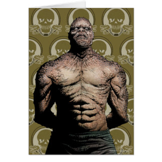 Suicide Squad | Killer Croc Comic Book Art Card
