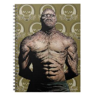 Suicide Squad   Killer Croc Comic Book Art Spiral Note Books