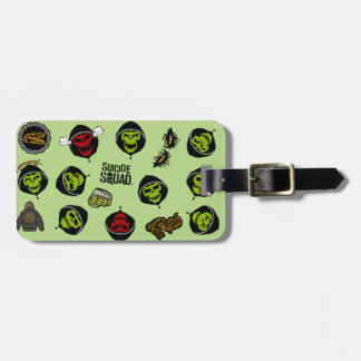 Suicide Squad | Killer Croc Emoji Pattern Bag Tag