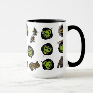 Suicide Squad | Killer Croc Emoji Pattern Mug