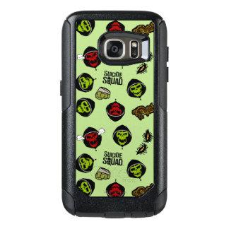 Suicide Squad | Killer Croc Emoji Pattern OtterBox Samsung Galaxy S7 Case