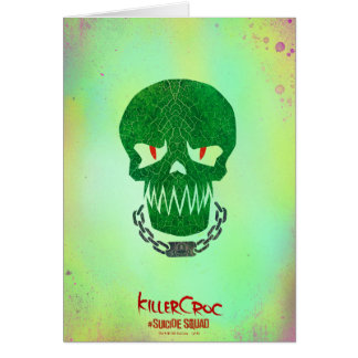 Suicide Squad | Killer Croc Head Icon Card