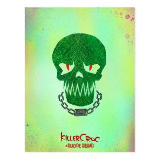 Suicide Squad | Killer Croc Head Icon Postcard