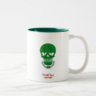 Suicide Squad | Killer Croc Head Icon Two-Tone Coffee Mug