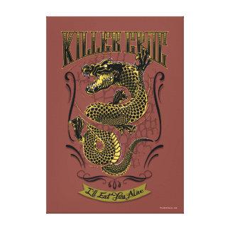 Suicide Squad   Killer Croc Tattoo Canvas Print