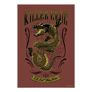 Suicide Squad | Killer Croc Tattoo Poster