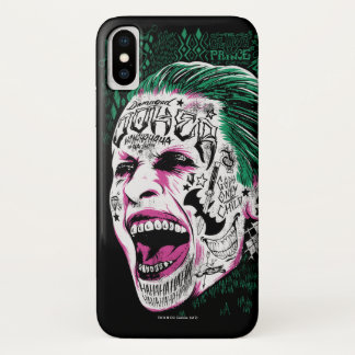 Suicide Squad | Laughing Joker Head Sketch Case-Mate iPhone Case