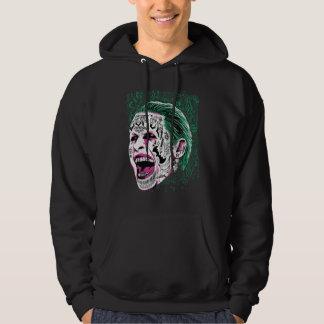 Suicide Squad | Laughing Joker Head Sketch Hoodie