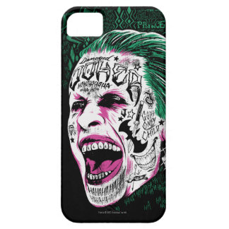Suicide Squad | Laughing Joker Head Sketch iPhone 5 Cases
