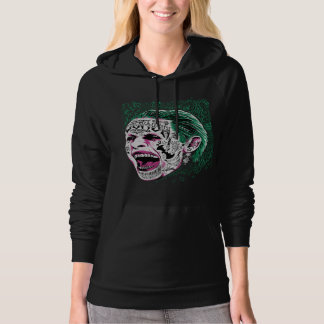 Suicide Squad | Laughing Joker Head Sketch Sweatshirts