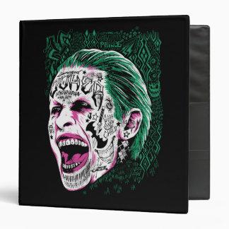 Suicide Squad | Laughing Joker Head Sketch Vinyl Binders