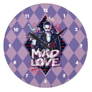 Suicide Squad | Mad Love Large Clock