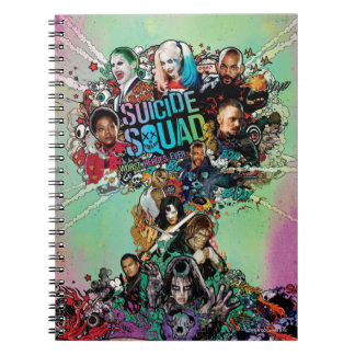 Suicide Squad   Mushroom Cloud Explosion Spiral Note Books