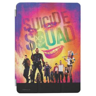 Suicide Squad | Orange Joker & Squad Movie Poster iPad Air Cover