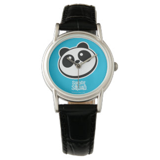 Suicide Squad | Panda Purveyors Logo Watches