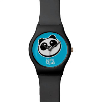 Suicide Squad | Panda Purveyors Logo Wristwatches