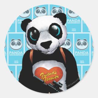 Suicide Squad | Panda Round Sticker