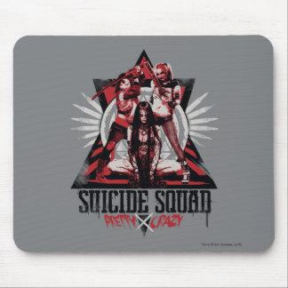 Suicide Squad | Pretty Crazy Squad Girls Mouse Pad