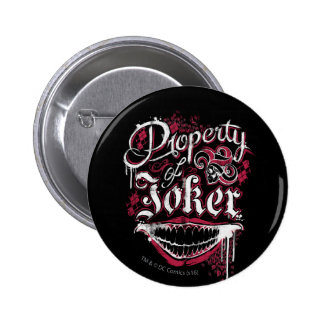 Suicide Squad | Property of Joker 2 Inch Round Button
