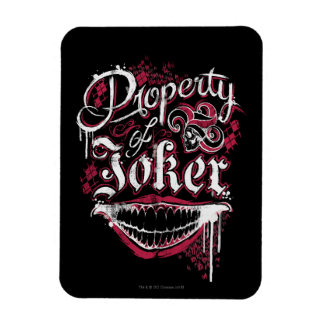 Suicide Squad | Property of Joker Magnet