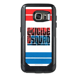 Suicide Squad | Red and Blue Logo OtterBox Samsung Galaxy S7 Case