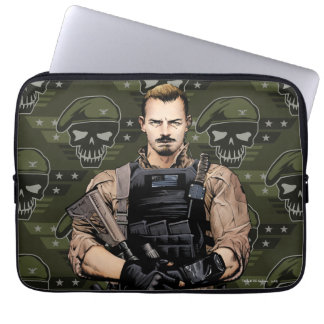 Suicide Squad | Rick Flag Comic Book Art Laptop Computer Sleeve