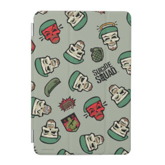 Suicide Squad | Rick Flag Emoji Pattern iPad Mini Cover