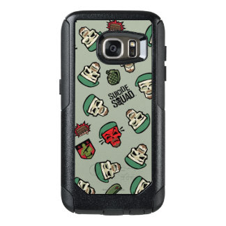 Suicide Squad | Rick Flag Emoji Pattern OtterBox Samsung Galaxy S7 Case