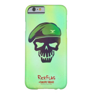 Suicide Squad | Rick Flag Head Icon Barely There iPhone 6 Case
