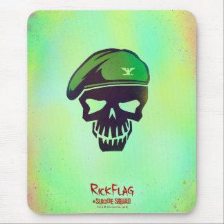 Suicide Squad | Rick Flag Head Icon Mouse Pad