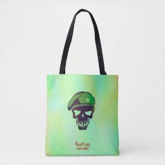 Suicide Squad | Rick Flag Head Icon Tote Bag