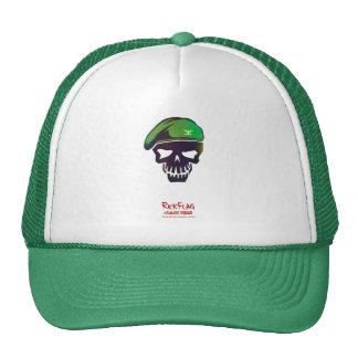 Suicide Squad | Rick Flag Head Icon Trucker Hat