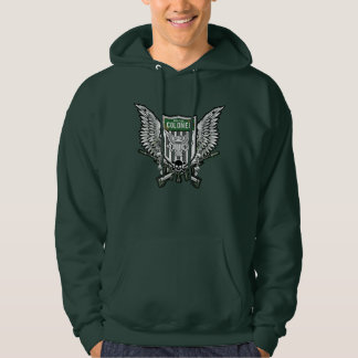 Suicide Squad | Rick Flag Winged Crest Tattoo Art Hoodie