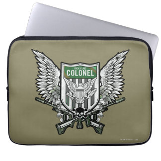 Suicide Squad | Rick Flag Winged Crest Tattoo Art Laptop Sleeves