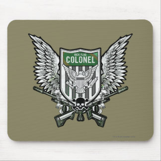 Suicide Squad | Rick Flag Winged Crest Tattoo Art Mouse Pad