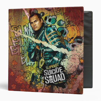 Suicide Squad | Slipknot Character Graffiti 3 Ring Binders