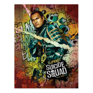 Suicide Squad | Slipknot Character Graffiti Postcard