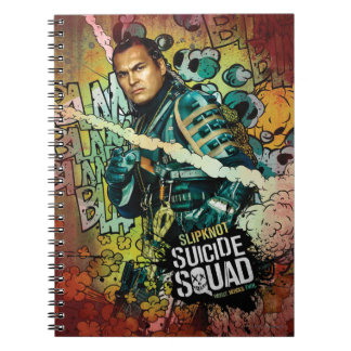 Suicide Squad | Slipknot Character Graffiti Spiral Notebook