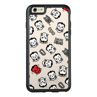 Suicide Squad | Slipknot Emoji Pattern OtterBox iPhone 6/6s Plus Case