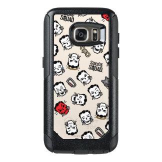Suicide Squad | Slipknot Emoji Pattern OtterBox Samsung Galaxy S7 Case