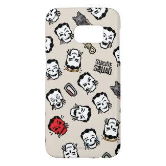 Suicide Squad | Slipknot Emoji Pattern Samsung Galaxy S7 Case