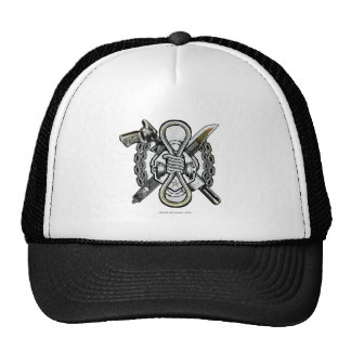 Suicide Squad | Slipknot Weapons Tattoo Art Trucker Hat